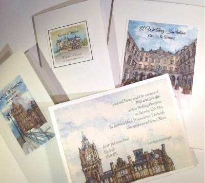 Edinburgh venues collection. Balmoral Hotel insert.