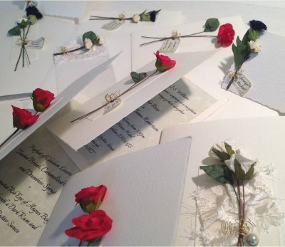Bouquet of stationery